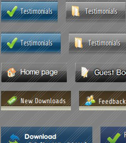 Menu Buttons For Frontpage Expression Web 3 Dwt Tutorial