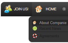 Expressions Design 3 Icons Filter Category Contacts Joomla Frontpage