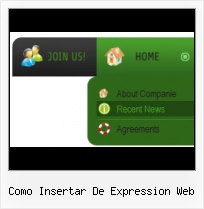 Frontpage Popup Picture Create Expressions Menu Submenu
