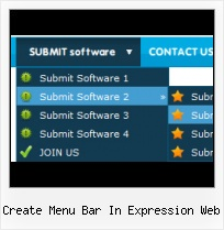 Criar Submenu Vertical No Front Page Tutorial Animating Text Expression Web