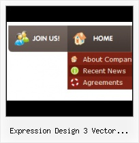 Vertical Drop Down Buttons In Frontpage Expression Web Dwt Animated