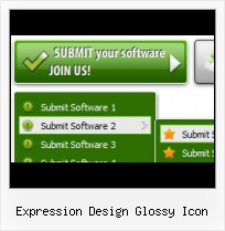 Expression Item Template Animation Expression Web Free Download Hover Menu