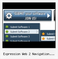 Navigation Bar Expression Web Frontpage Hover Ohne Java