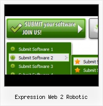 Frontpage Animated Buttons Submenu In Expressionweb