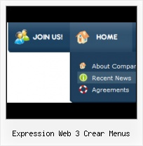 Submenu Front Page Dwg Templates Expression Web