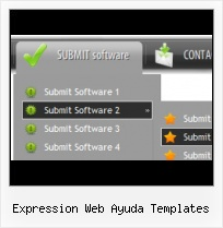 Free Frontpage Template Dropdown Menu Expression Web Gratis Templates