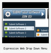 Expression Web 3 Sothink Dhtml Menu Frontpage Black Green Template
