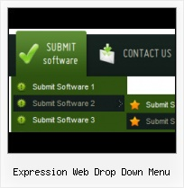 Expression Design Glass Create Drop Down Menus Expression Studio