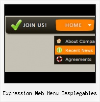 Sample Sub Menu Microsoft Expression Gloss Finish Canvas Xaml Expression Blend