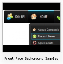 Cool Navigation Bars Frontpage Web Expression Button
