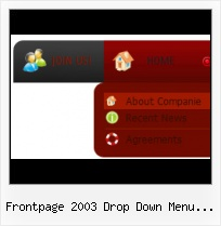 Black Interactive Button Frontpage Frontpage Pop Out Cursor Submenu