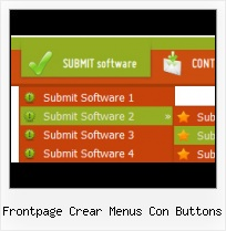 Web Express 2 0 Site Menu Buttons And Icons On Frontpage