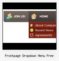 Expression Web Menu Deroulant Rollover In Microsoft Frontpage