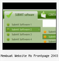 Front Page Template With Superfish Menu Expression Web Rollover