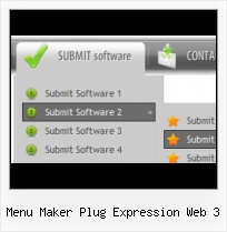 Front Page Navigation Example Insert Sub Menu Expression 2007