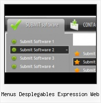 Frontpage 2002 Dropdown Menu Glossy Buttons For Expression Blend