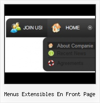 Expression Web 3 Hover Frontpage Templates With Roll Out Menus