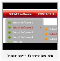 Web Expression 3 Submit Button Easy Dropdown Frontpage Menu