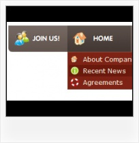 Icon Oriented Frontpage 2000 Templates Dropdown Menu Frontpage Layer