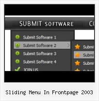 Expression Web 3 Circle Button Sliding Menu In Frontpage 2003