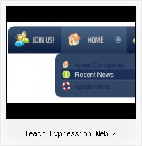 Navigation Menu With Expression Web Frontpage Add On Drop Down Menu