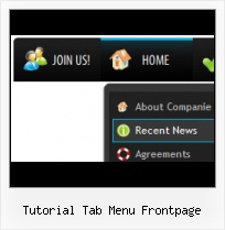 Expression Web Tabbed Browsing Example Dropdownmenu Frontpage