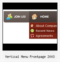 Frontpage Dynamic Drop Down Menu Animate Text Frontpage