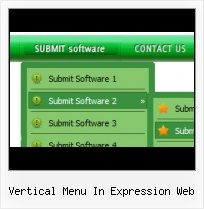 Expression Design Glass Button Frontpage 2000 Mouseover Dropdown Menu
