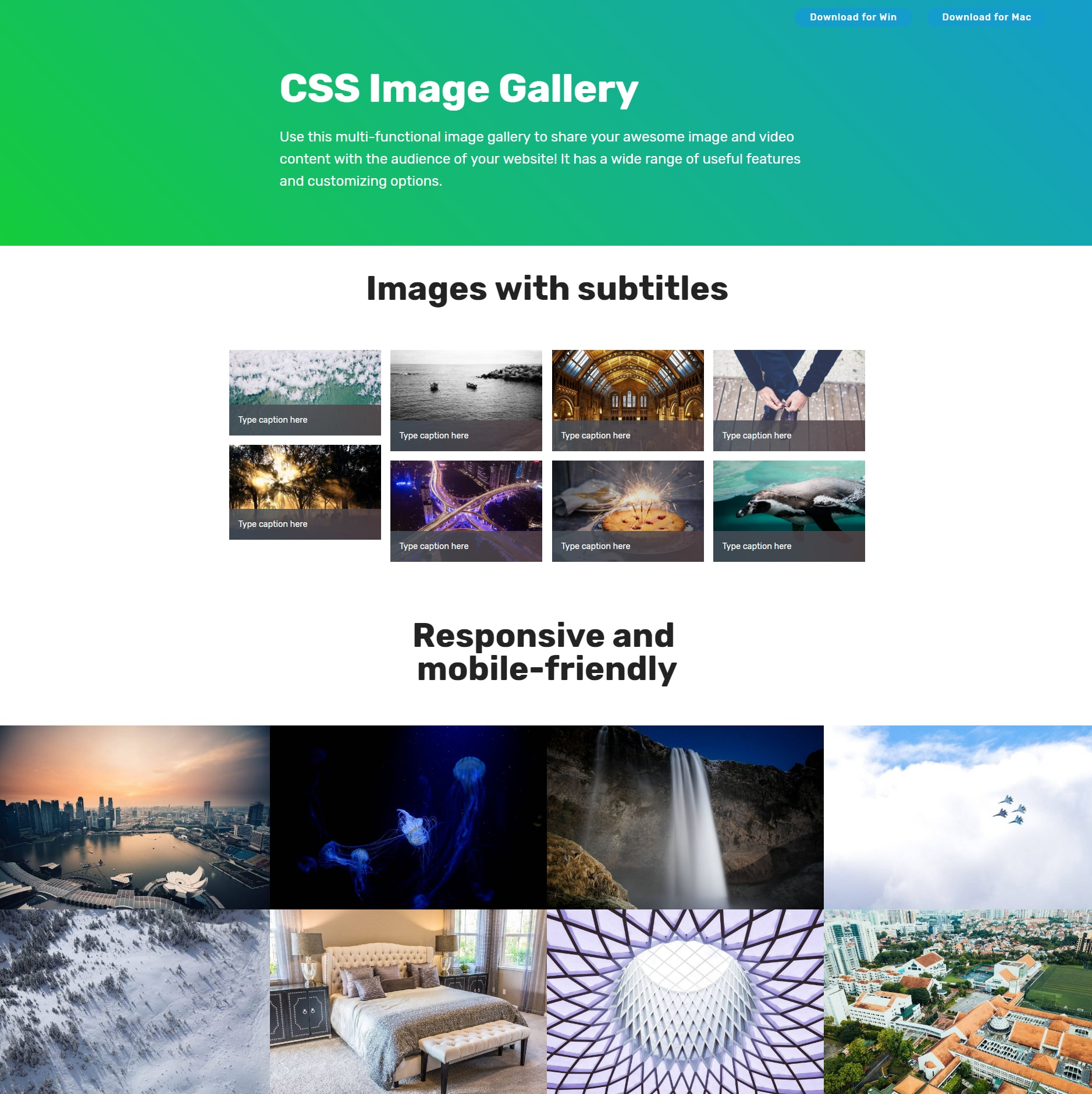 CSS3 Bootstrap Illustration Gallery